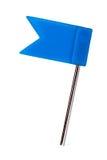 Color flag pins photo, marker push pin. Color flag pins photo marker push pin isolated Royalty Free Stock Photo