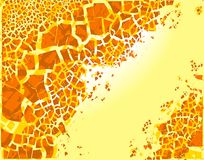 Color flakes Stock Photo