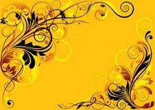 Color floral design Stock Photos