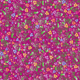 Color floral seamless pattern Royalty Free Stock Image