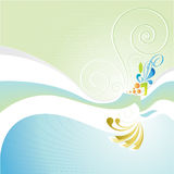 color floror vektor illustrationer