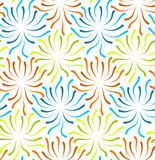 Color flower abstract seamless Royalty Free Stock Photos