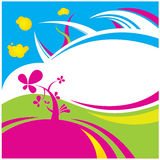 Color flower  background Royalty Free Stock Photography