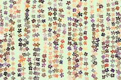 Color flower illustrations background, hand drawn. Graphic, vector, sketch & drawing. Color flower illustrations background, hand drawn. Vector graphic royalty free illustration