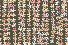 Color flower illustrations background, hand drawn. Details, messy, vector & drawing. Color flower illustrations background, hand drawn. Vector graphic stock illustration