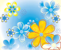 Color flowers background Royalty Free Stock Photo