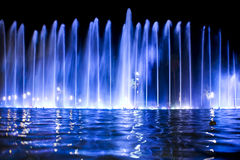 Color fountain Royalty Free Stock Image