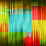 Color fractures Stock Photo