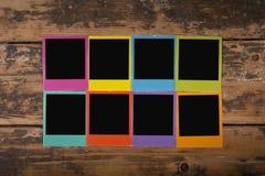 Color frames Stock Image