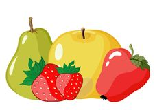 Color fruit Royalty Free Stock Image