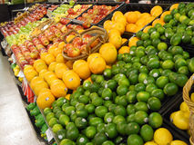 The Color of Fruit. Fruit in a market produce section Royalty Free Stock Image