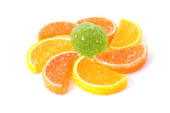 Color fruit jelly Stock Photography