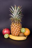 Color fruits royalty free stock photo