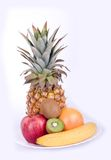 Color fruits royalty free stock photography