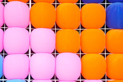 Color full balloons texture. Show texture background Stock Images