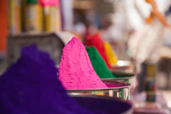 Color full colors of holi Royalty Free Stock Photos