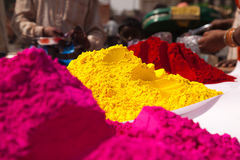 Color full colors of holi Royalty Free Stock Image