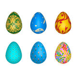 Color full of egg for Easter Stock Images