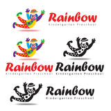 Rainbow Kindergarten Preschool Stock Photography