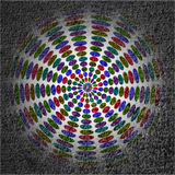Color full wheel Stock Image