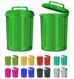 Color garbage Royalty Free Stock Photo
