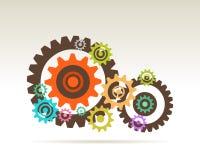 Gears teamwork Stock Photo
