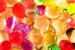 Color gel balls Royalty Free Stock Photos