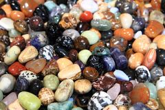 Color gems background Stock Photography