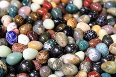 Color gems background Stock Photos