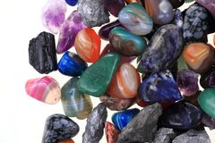 color gems texture Stock Photo