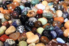 Color gems texture Royalty Free Stock Photography