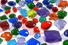 Color gemstones Royalty Free Stock Images