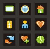 color general icon icons series Στοκ εικόνες με δικαίωμα ελεύθερης χρήσης