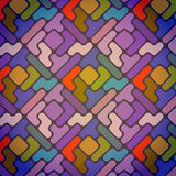 Color geometric pattern Royalty Free Stock Photo