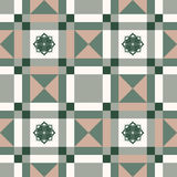 Color geometrical pattern Royalty Free Stock Images
