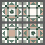 Color geometrical pattern Royalty Free Stock Photos