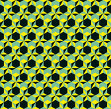 Color geometry seamless pattern. Royalty Free Stock Image