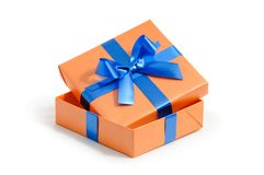 Color gift box Stock Photo