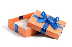 Color gift box Stock Images
