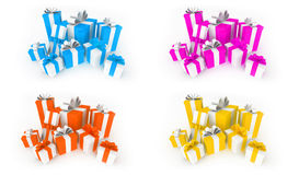 Color Gifts Royalty Free Stock Images