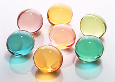 Color glass ball Stock Image