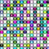 Color Glass Bead Background Map. Can be used as design material stock illustration