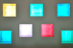 Color Glass Block Royalty Free Stock Images