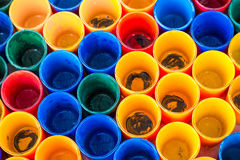 Color of glass cup Royalty Free Stock Photos