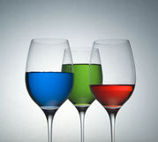 Color Glass Royalty Free Stock Photography