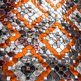 Color glass mosaic Royalty Free Stock Photo