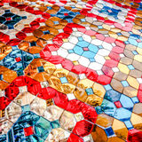 Color glass mosaic Royalty Free Stock Photos