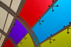 Color glass windows of background Royalty Free Stock Images