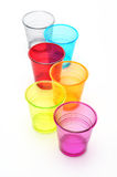 Color glasses Royalty Free Stock Photos