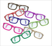 Color glasses - mess Royalty Free Stock Image